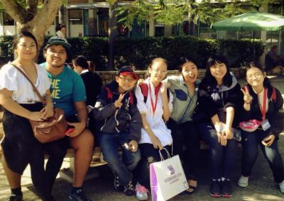 gold-coast-students-interview-locals-at-UQ
